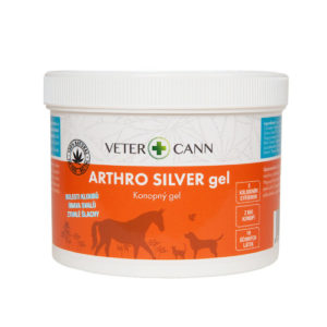 Vetercann arthro silver konopný gel pro zvířata