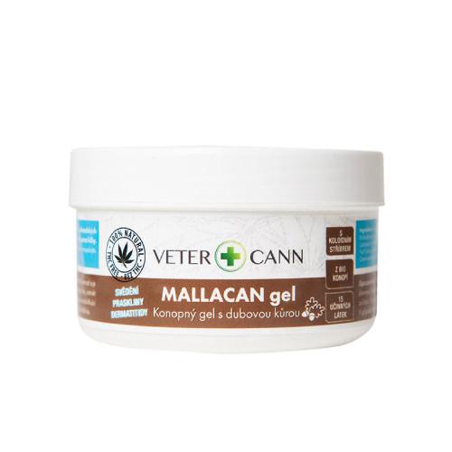Vetercann mallacan konopný gel pro zvířata