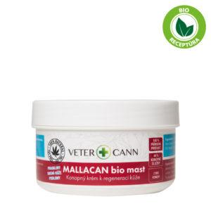 Vetercann mallacan bio konopná mast pro zvířata