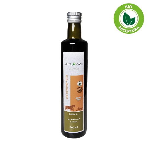Vetercann bio konopný olej