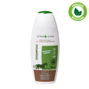 Vetercann přírodní konopný šampon pro psy a kočky